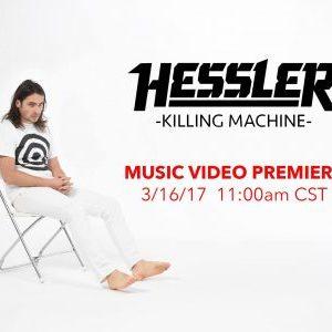 """Hessler release video for """"Killing Machine"""" from new EP 'Skeleton Crew'"""