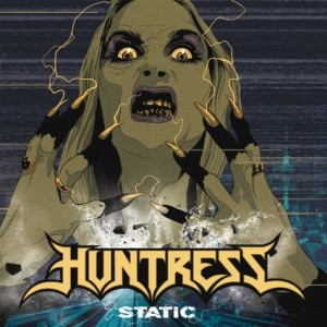 Huntress Static CD cover