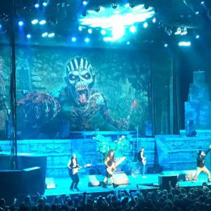 Iron Maiden with opener Ghost at Xcel Energy Center in St. Paul, Minnesota, USA Concert Review
