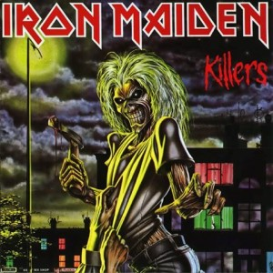 Iron Maiden CD Killers cover