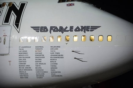 Iron Maiden Ed Force One photo