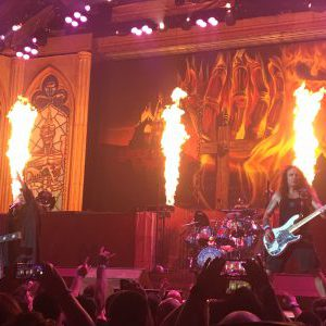Iron Maiden live at the Keybank Center in Buffalo, New York, USA Concert Review