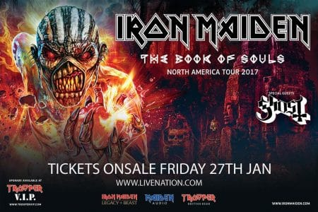 Iron Maiden Announce North American Summer 2017 Tour Dates