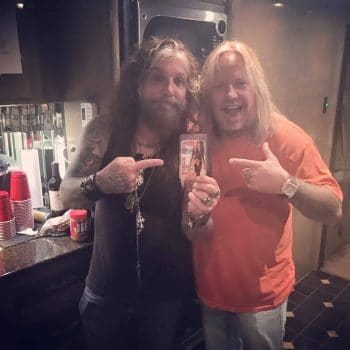 John Corabi - Vince Neil photo