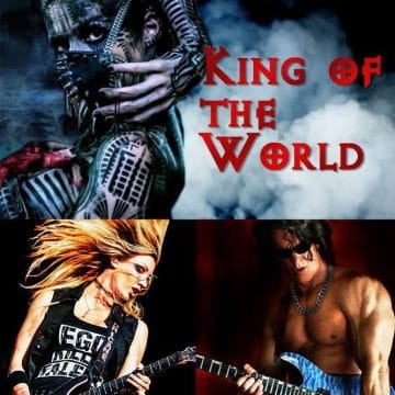 """Kane Roberts releases lyric video for track """"King Of The World"""