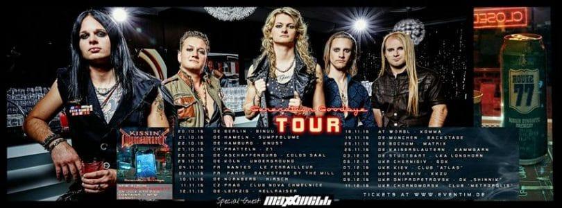 Kissin Dynamite tour poster
