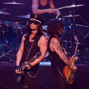 L.A. Guns live at the Arcada Theatre in St. Charles, Illinois, USA Concert Review