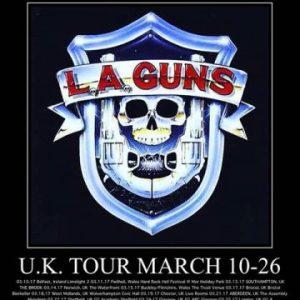 L.A. Guns live in Sheffield, UK Concert Review