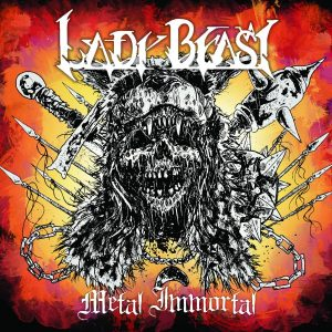Lady Beast CD cover