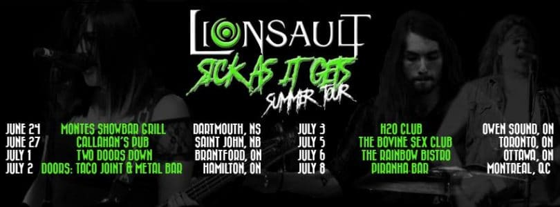 Lionsault tour dates