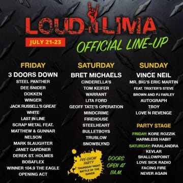 Loud N Lima 2017 (Day Two) Concert Review – Sleaze Roxx