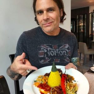Mike Tramp feeling recharged after some family time in Indonesia