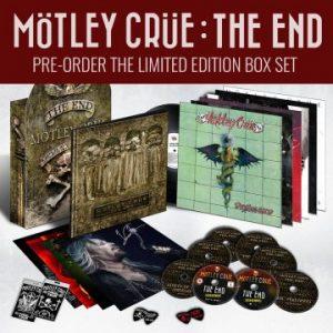 Mötley Crüe to release 'Mötley Crüe: The End' box set on November 25th