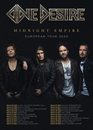New Album Releases 2020.One Desire To Release New Album Midnight Empire In First