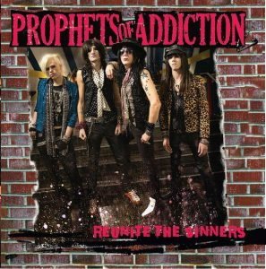 Prophets of Addiction CD cover