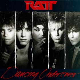 Ratt Dancing Undercover CD cover