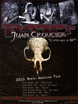 Ratt's Juan Croucier poster