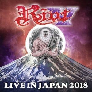 Riot V – 'Live In Japan 2018' (August 2, 2019)