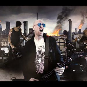 """Demons Sing Of The End release video for """"Crawl Back To Hell"""""""