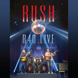 Rush R40 Live CD cover