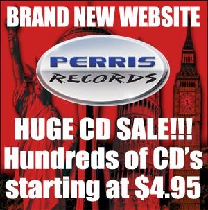 SLEAZE ROXX banner Sale CDs
