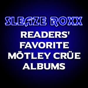 SR Favorite Motley Crue albums poster