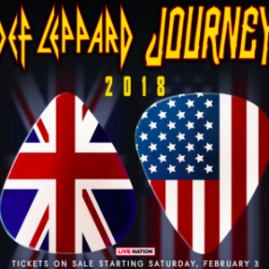 Def Leppard and Journey tour dates announced for 2018