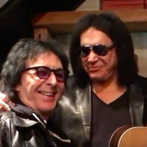 Peter Criss and Gene Simmons see each other for 1st time since KISS' Rock & Roll Hall Of Fame induction