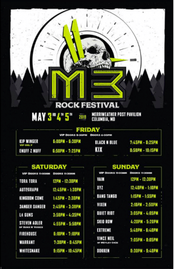 M3 Rock Festival 2019 (Day One) Concert