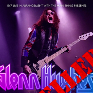 Glenn Hughes cancels his South American tour scheduled from Sept. 27th to Oct. 25th