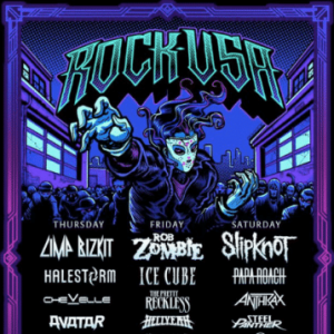 Rock USA in Oshkosh, Wisconsin, USA to include Steel Panther, Rob Zombie, Halestorm and more