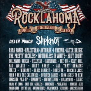 Rocklahoma in Pryor , Oklahoma, USA to include Warrant, BulletBoys, Straight Six and The Rumours