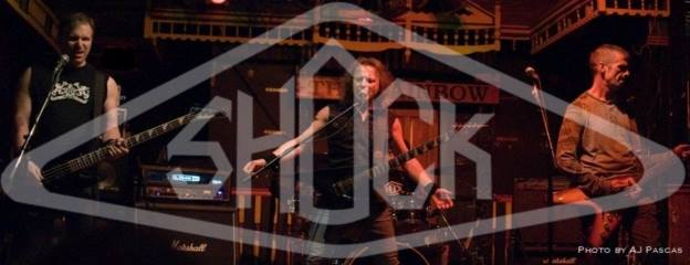 Shock live photo with logo