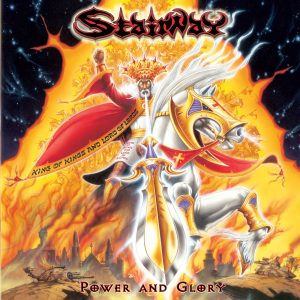 Stairway-Power and Glory - cover design