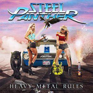 Steel Panther – 'Heavy Metal Rules' (September 27, 2019)