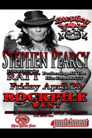 Stephen Pearcy poster