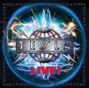 Tesla live CD