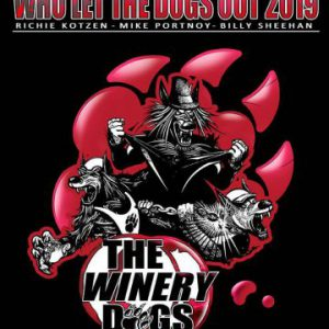 The Winery Dogs consisting of Richie Kotzen, Billy Sheehan and Mike Portnoy to tour in May 2019