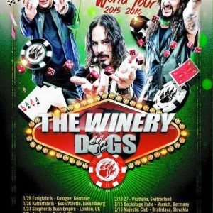 "The Winery Dogs debut video for song ""Hot Streak"""