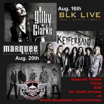 Tom Keifer live at the Marquee Theatre in Tempe, Arizona