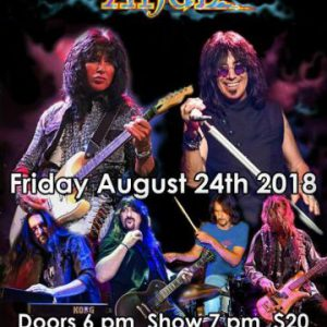 Frank DiMino and Punky Meadows of Angel with openers Tora Tora and Ron Keel Concert Review