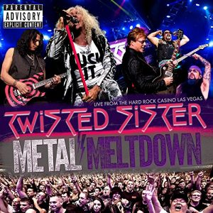 Twisted Sister CD cover