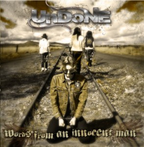 Undone CD cover