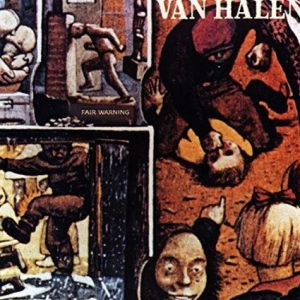Van Halen CD cover 2