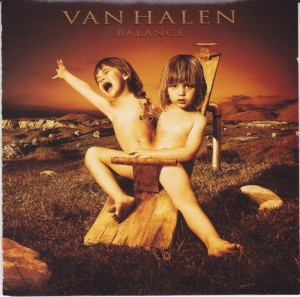 Van Halen CD cover 3
