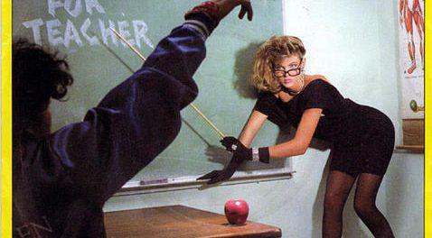 """Fun facts about Van Halen's """"Hot For Teacher"""" video – Sleaze Roxx"""