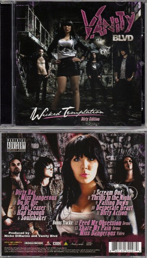Vanity Blvd CD cover