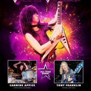 Vinnie Vincent postpones December shows to February 2019 and announces all-star band