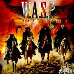 WASP Babylon CD cover