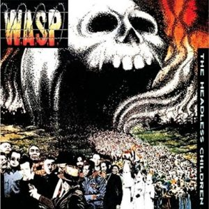 WASP Headless Children CD cover